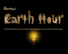 Earth Hour is an hour of darkness when millions of people around the world switch off the lights for one hour. Be part of it!