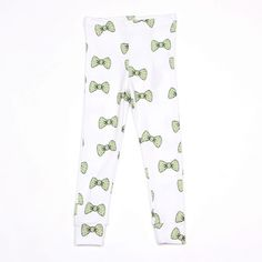 MINI RODINI BOW LEGGINGS LIGHT GREEN - Mini Rodini #minirodiniwishlist. @Mini Rodini