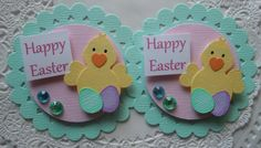 Spring/Easter Chick Embellishments on Etsy, $4.59