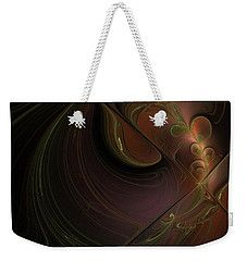 Weekender Tote Bag featuring the digital art Barocco by Elena Ivanova IvEA #ElenaIvanovaIvEAFineArtDesign #WeekenderToteBags #IvEA #Gift #Accessories #Design #Print