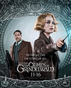 """Fantastic Beasts The Crimes of Grindelwald Poster 86x30/"""" 66x23/"""" 2018 Print Silk"""