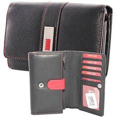 1c6c1fec4f1501 Old River große Damen Portemonnaie Geldbörse Geldbeutel Leder 15 Karten  neu. Aussenmasse: ca.