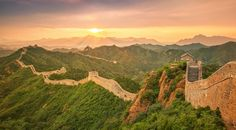 Fly Over The Great Wall of China