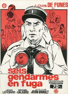 Seis gendarmes en fuga (1970) tt0065769 G