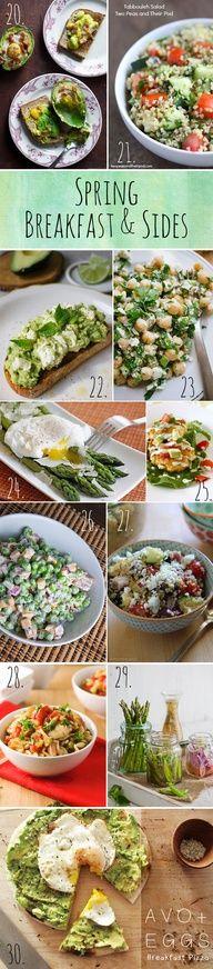 Spring Breakfast  Sides Recipes