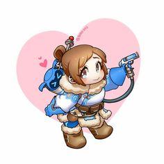 Chibi Mei is as adorable as not chibi Mei :3