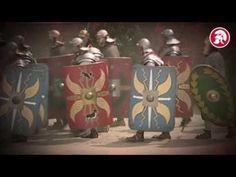 R7 Nimwegen Römisches Militärlager (DE) - YouTube