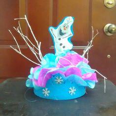 Centro de mesa fiesta Frozen Olaf