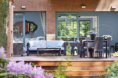 Strona fotografa Radka Wojnara poświęcona wnętrzom w stylistyce łączącej klasyczne i nowoczesne elementy oraz innym stylom wnętrz mieszkalnych Outdoor Sofa, Outdoor Furniture Sets, Outdoor Decor, Disraeli, Home Living, Terrazzo, E Design, Modern Interiors, Home Decor