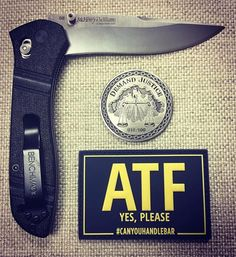Did you get any cool new EDC toys for Christmas? I am digging this simple carry from our friend @marksblades with our ATF Patch. . . #Repost @marksblades  Afternoon Carries #benchmade #benchmadeknives #benchmade710 #benchmade710mchenryandwiliams #ironbullslinger #challengecoin #demandjustice #patchmeuppatchcollector #patchmeup #patches #moralepatch #atf #canyouhandlebar #edc #everydaycarry #2a #pewpew #marksblades #patch @benchmadeknifecompany  @ironbullslinger @marksblades @canyouhandlebar…