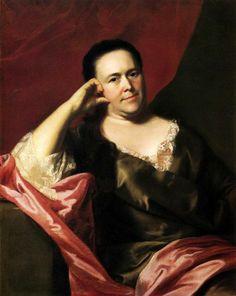 John Singleton Copley -- Mrs. Scoally, 1763 -- another wrapper?