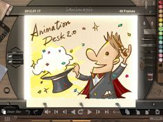 Animation Desk for iPad - ($4.99) - Create cartoons and animations with this powerful tool.