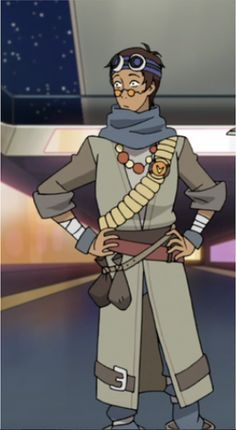 Lance as a Space Pirate in disguise from Voltron Legendary Defender