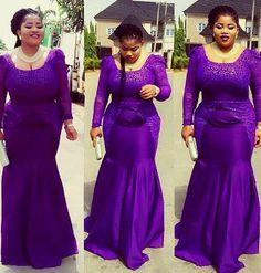 Ziemlich perfekte Plus Size Aso-Ebi Styles - pinnerial African Fashion Ankara, African Print Fashion, African Wear, African Attire, Ghanaian Fashion, African Outfits, African Prints, African Dresses For Women, African Women