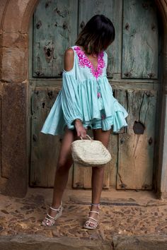 """ : Alice rises up Slow Fashion, Boho Fashion, Fashion Dresses, Ibiza Dress, Moda Boho, Bohemian Tops, Pret A Porter Feminin, Rocker Chic, Western Dresses"