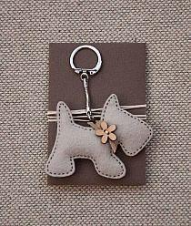 Scottie Dog Key Chain
