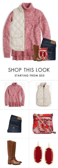 """""""Don't hold on to a toxic relationship."""" by your-daily-prep ❤ liked on Polyvore featuring J.Crew, Abercrombie & Fitch, Vera Bradley, Tory Burch and Kendra Scott"""