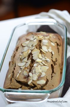 Coconut Flour Banana Bread via Ancestral Chef