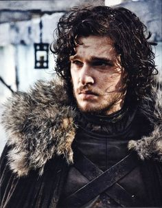 The Official Jon Snow in the Game of Thrones is Kit Harington . Updated June 2011 : Kit Harington is doing a great job as Jon Snow - very. Catelyn Stark, Ned Stark, Bran Stark, Cersei Lannister, Daenerys Targaryen, Khaleesi, John Snow, Kit Harington, Film Scene