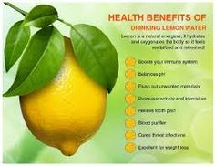 Nutrition Health Course: The Benefits Of lemon For Healthy Skin To Stay Bea...