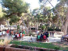 Actividades al aire libre y fuera de la rutina diaria donde los niños aprendan, establezcan relaciones afectivas y experimenten con el mundo real