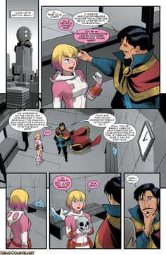 The Unbelievable Gwenpool 3 Page 18 para ESO era la mochila :D XD