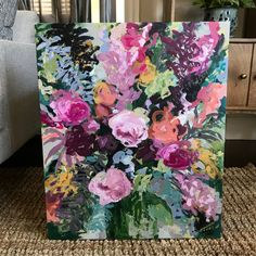 new floral paintings