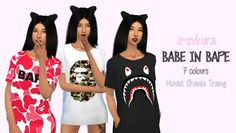 sims 4 Bape A Bathing Ape - Google Search