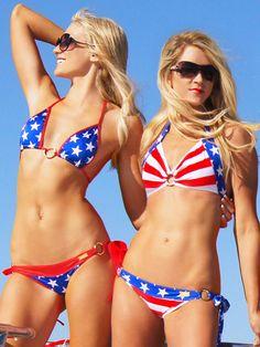 f6f771829a 39 Best American Flag Bikini images in 2016 | American flag bikini ...