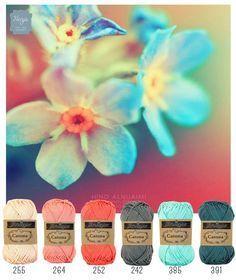 Color inspiration Orchidee. Scheepjes Catona. Henja: online garenwinkel
