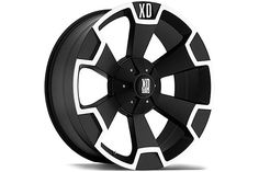 XD Wheels 803 - Matte Black XD Thump Wheels for Trucks - Best Price on XD Series Thump Rims by KMC Wheels