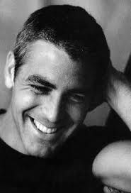 George Clooney; a natural smile is always in style, in my book; George Clooney has one of the best!