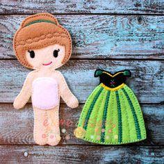 Felt Doll – Annabelle & Outfit