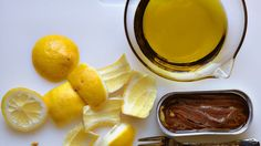 Lemon-Anchovy Vinaigrette:  a lighter, brighter option for all you Caesar salad lovers.