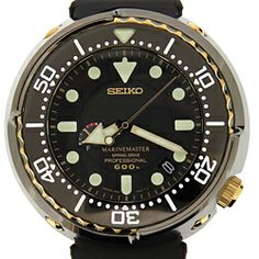 Seiko SBDB008 Prospex Marinemaster Golden Tuna Spring Drive 600m [SBDB008] : KeepTheTime.com Authentic Watches