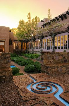 School for Advanced Research (SAR) Campus, Santa Fe, New Mexico