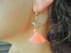 Tassel Earrings Christmas Jewelry-Minimal by ebrukjewelry on Etsy