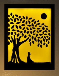 Buddha Under The Bohdi Tree
