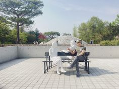 Museum San 참 좋아요^^🐸                                            #뮤지엄산 #봄나들이 #미술관 #제임스터렐 #알렉산더리버만 #안도타다오 #김영성 #빛 #공간 #건축 #오크밸리 #museumsan #jamesturrell #alexanderliberman #youngsungkim #andotadao #museum #sculpture #contemporaryart #oakvalley