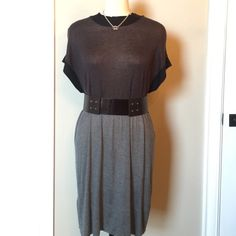 ‼️SALEBCBG MAXAZRIA SILK/CASHMERE DRESS Beautiful, light & super soft BCBG dress with back tie detail. Layer and pair with leggings or turn it up solo with a chunky pair of booties. Simply elegant! Only worn twice, in excellent condition! BCBGMaxAzria Dresses