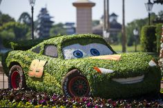 Topiary Fun Facts and Landscape Trivia Thrive At 19th Epcot International Flower & Garden Festival | Hidden Mickey Guy