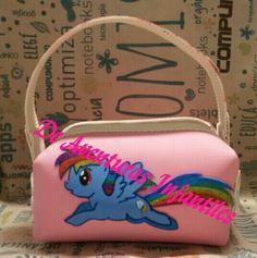 Carterita en goma eva Mi Pequeño Pony