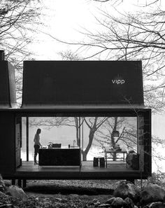 The Vipp Shelter | Now you can live in a Vipp! #prefab