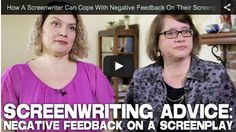 How A #Screenwriter Can Cope With Negative Feedback On Their #Screenplay via http://filmcourage.com/   For more videos, please visit https://www.youtube.com/user/filmcourage  #filmandtelevision #script #writingtips #writing #writer #womenwriters #screenplaywriting