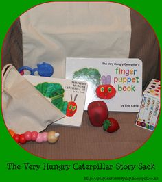Play & Learn Everyday: Very Hungry Caterpillar Story Sack