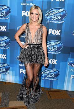 Carrie Underwood at the American Idol Finale. @blownxawayx94