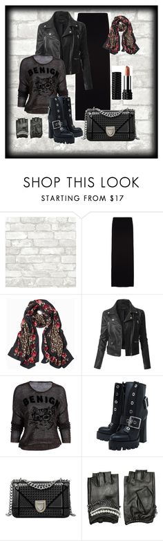 """""""Black"""" by xamdi80 on Polyvore featuring мода, The Row, White House Black Market, LE3NO, Alexander McQueen и Karl Lagerfeld"""
