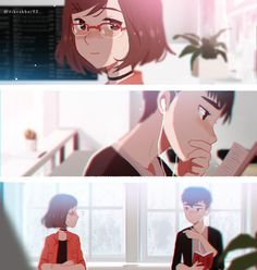 Were it so easy. Bd Comics, Cute Comics, Anime Couples Manga, Cute Anime Couples, Anime Love, Cassandra Calin, Manga Art, Anime Art, Romance Art