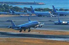 Olympic airways Greece  Elliniko airport