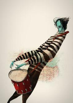 turecepcja: Sedat Girgin illustrator from Istanbul Turkey.